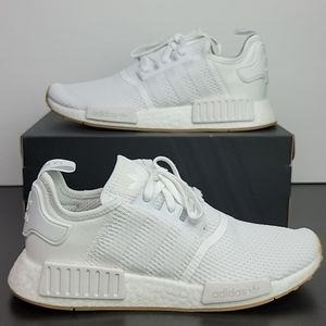 Adidas NMD_R1 Boost White Gum Men's Running Shoes